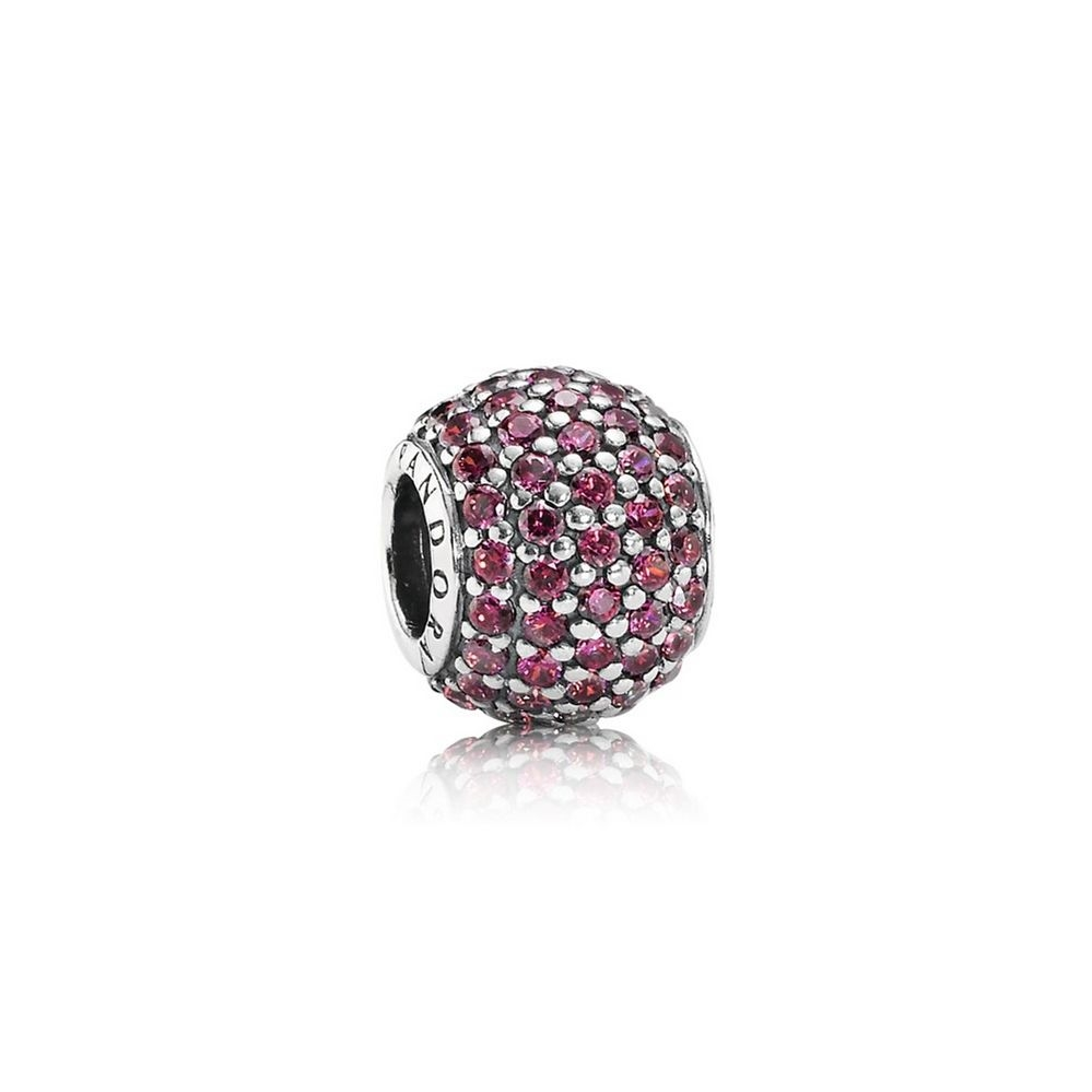 Pandora Pave Lights Charm, Red CZ 791051CZR