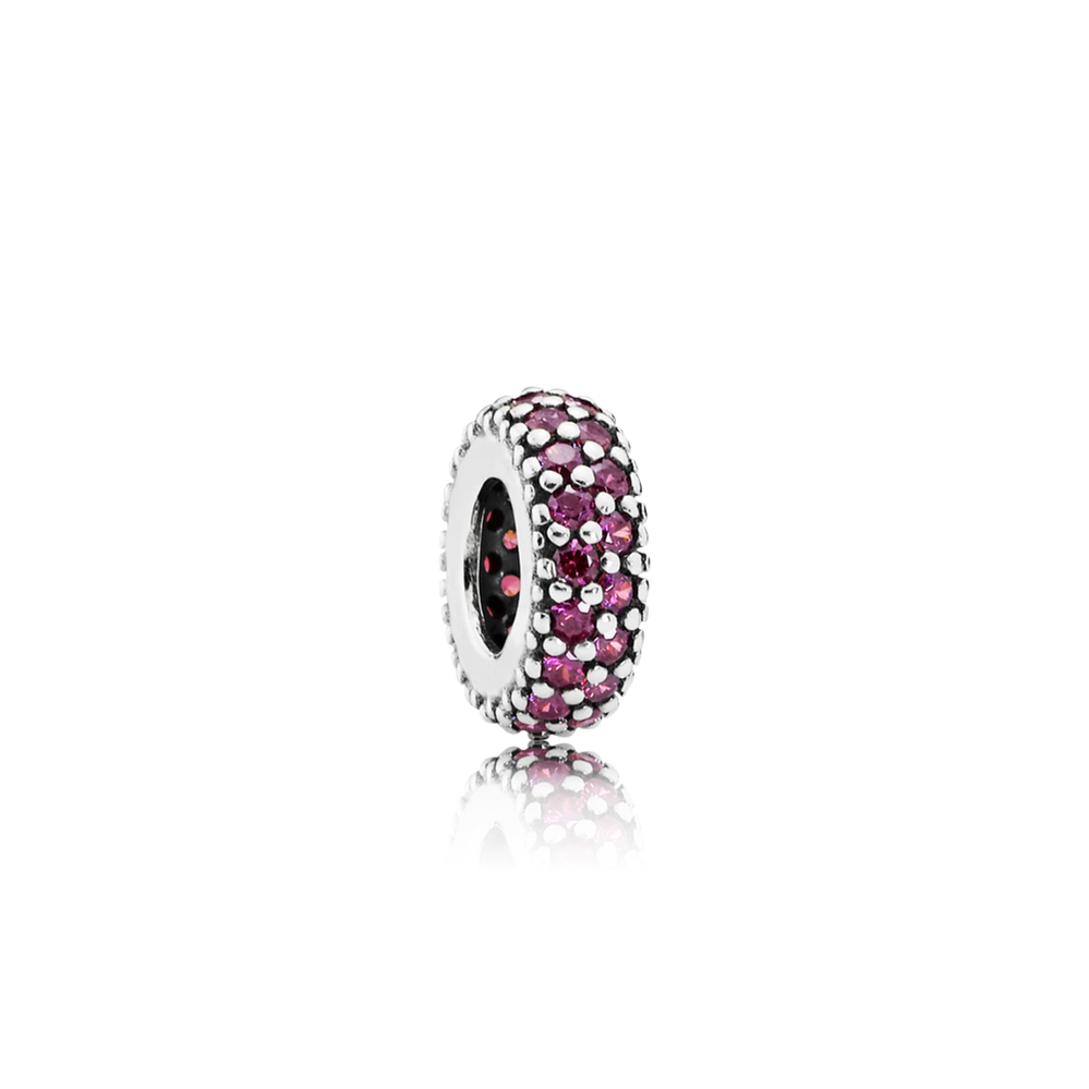 Pandora Inspiration Within Spacer, Red CZ 791359CZR
