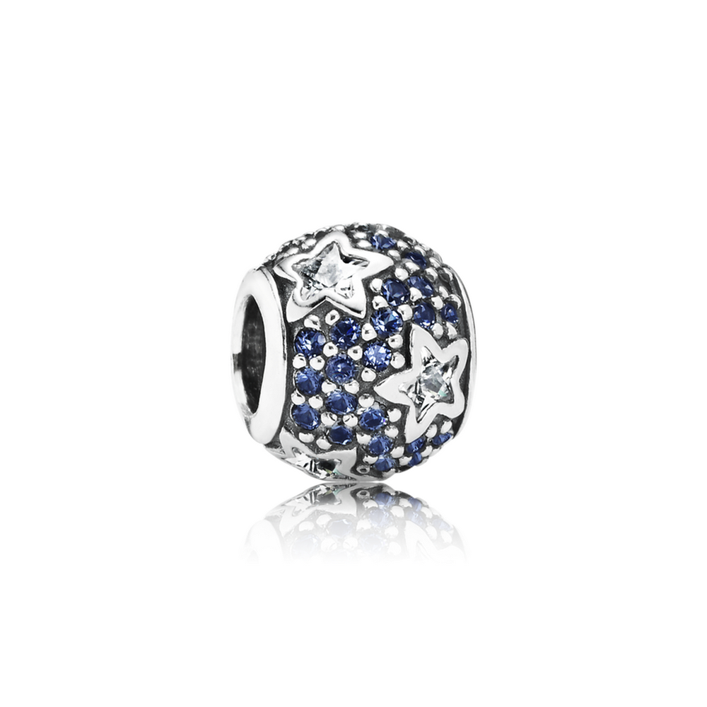 Follow The Stars, Clear CZ & Midnight Blue Crystal 791382CZ