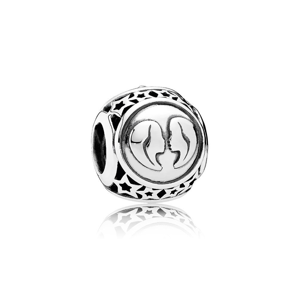 Pandora Gemini Star Sign Charm 791938
