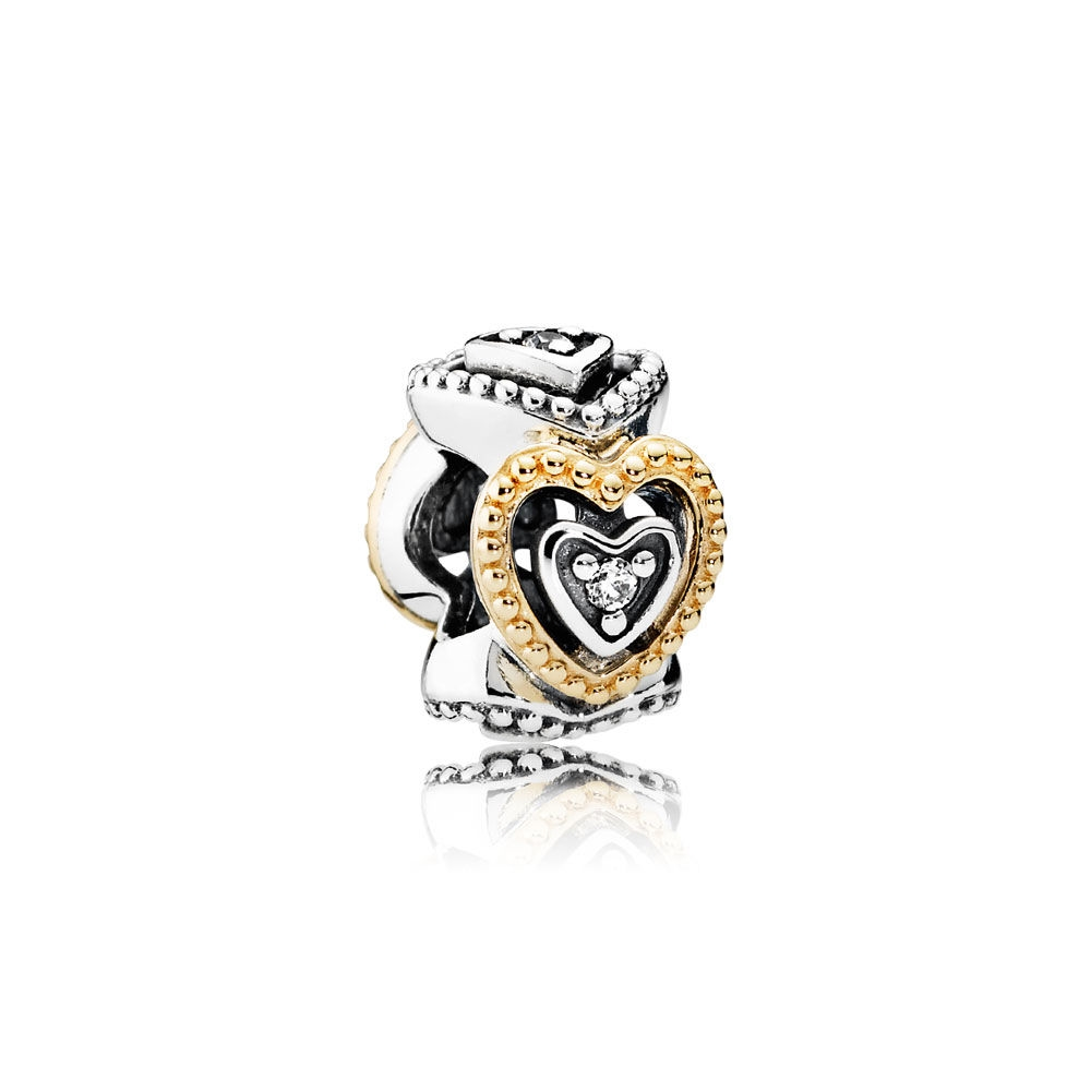 Pandora Celebration of Love Spacer, Clear CZ 791975CZ