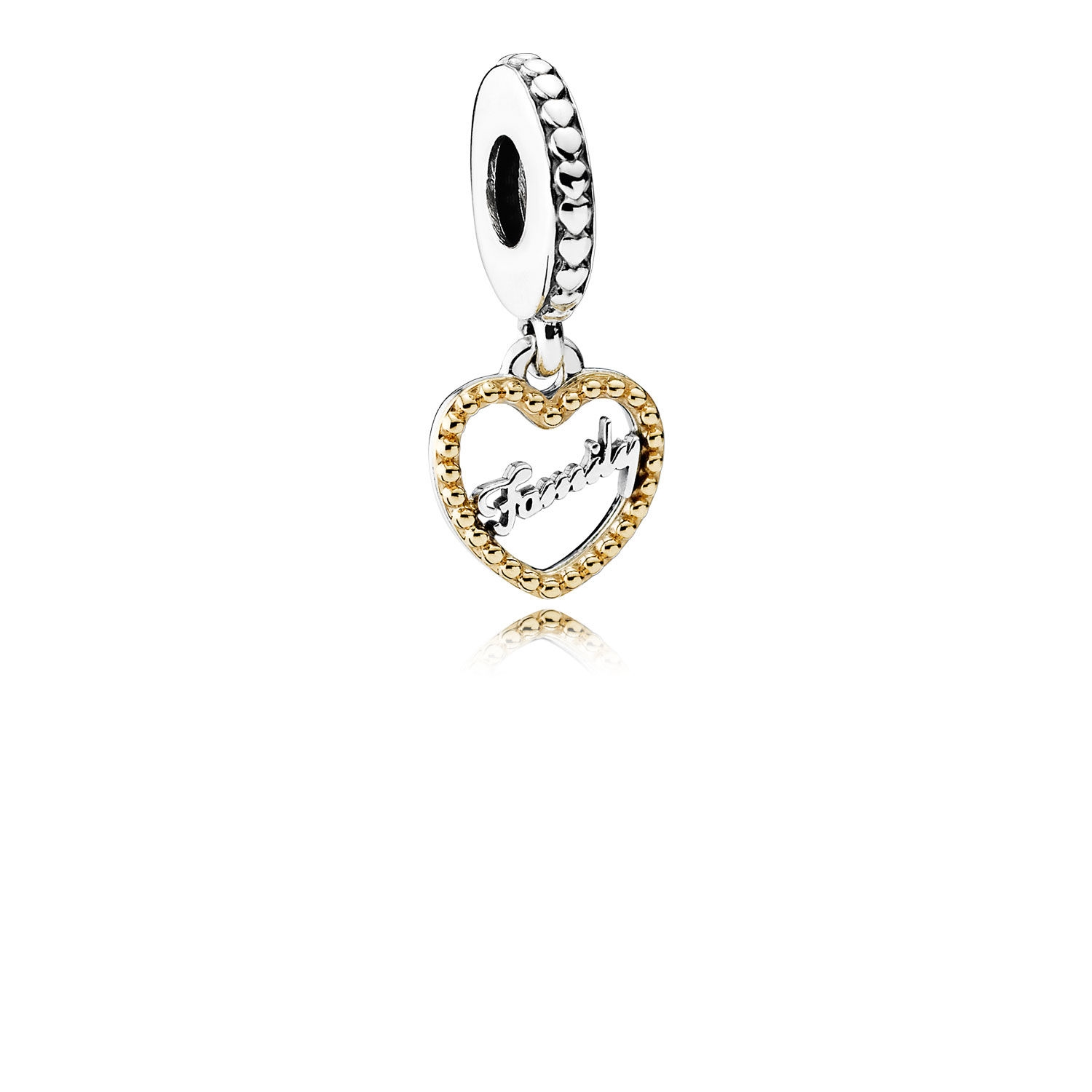 Pandora Family Script Dangle Charm 792011